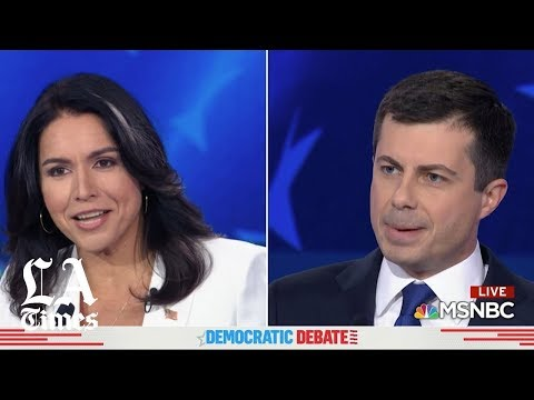 Tulsi Shreds The Smugness Off Of Mayor Pete's Face