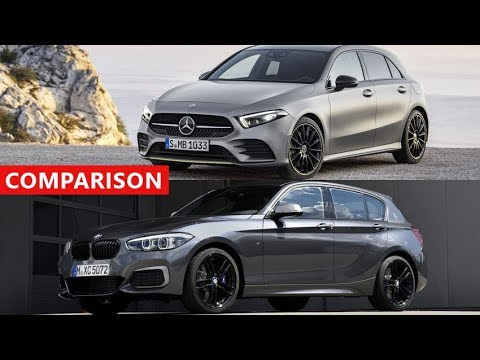 2018 mercedes benz a class vs 2018 bmw 1 series comparison youtube. Black Bedroom Furniture Sets. Home Design Ideas