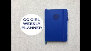 GO GIRL WEEKLY PLANNER | Small & Lightweight!