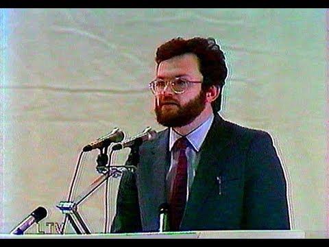 """Jonas Tamulis – """"Lietuvos gamtosauga"""" (1990 02 03)"""