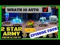 WRATH 10 COMPLETE!!! 2star army giveaway account Might and Magic Elemental Guardians
