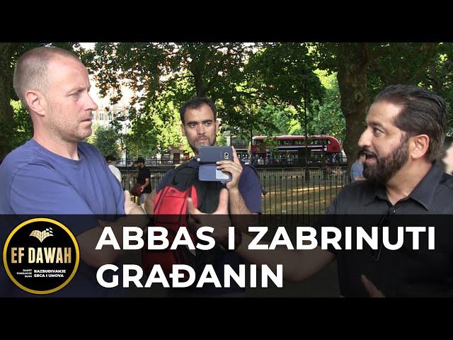 Abbas i zabrinuti građanin