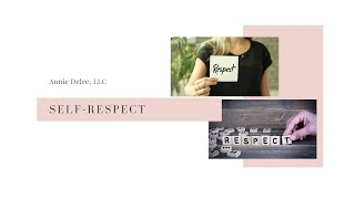 Do You Have Self-Respect?