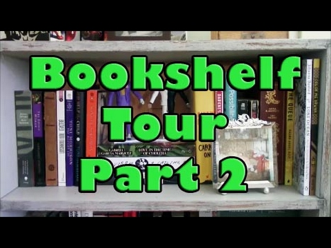Sue | Bookshelf Tour Part 2: Unread Shelf #1
