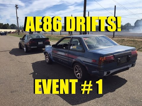 "Learning to Drift - Event # 1 ""The Adventure Begins"""