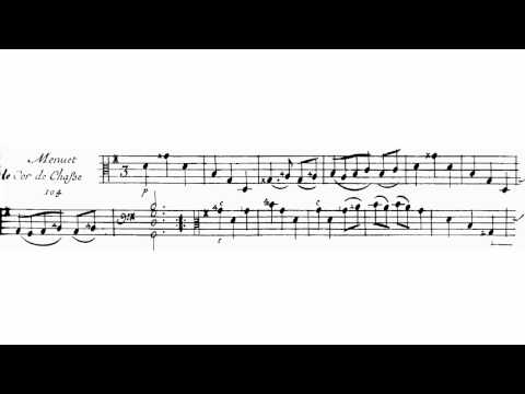 Two minuets in G-Major from the Third Book by Marin Marais (read-along)