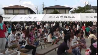 菩提寺学区の夏祭り