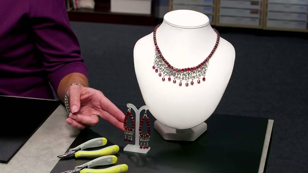 4b1b68d57b085 Intro to Stainless Steel Jumprings with Tammy Honaman. Fire Mountain Gems  and Beads