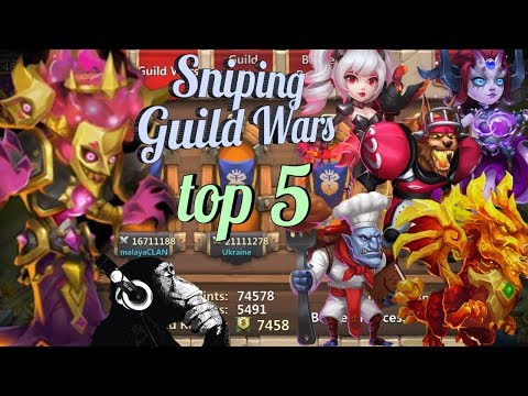 Bogeyman | Snipe Team | Guild Wars | Top 5 | Castle Clash