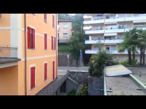 Vista da janela do hotel da F1 em Milão