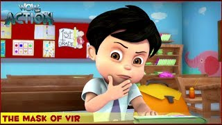 Vir : The Robot Boy | The Mask of Vir | 3D Action shows for kids | WowKidz Action