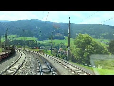 Führerstandsmitfahrt Bruck a. d. Mur - Villach Hbf - Cab Ride [HD] - ÖBB 1116