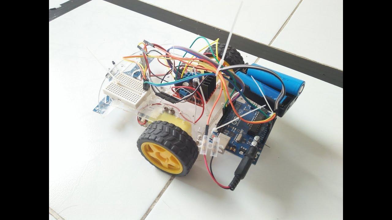 Lập trình arduino với robot dò line 5 mắt cơ bản
