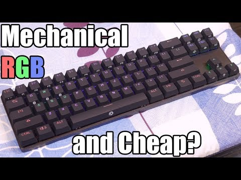 Drevo Calibur 71 Key Rgb Wireless Mechanical Keyboard Review Youtube