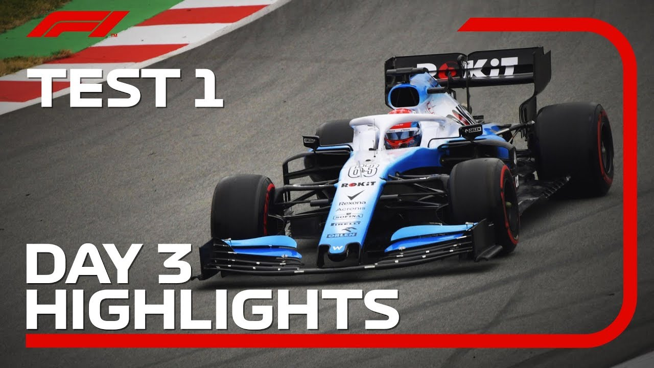 Download Day 3 Highlights   F1 Testing 2019