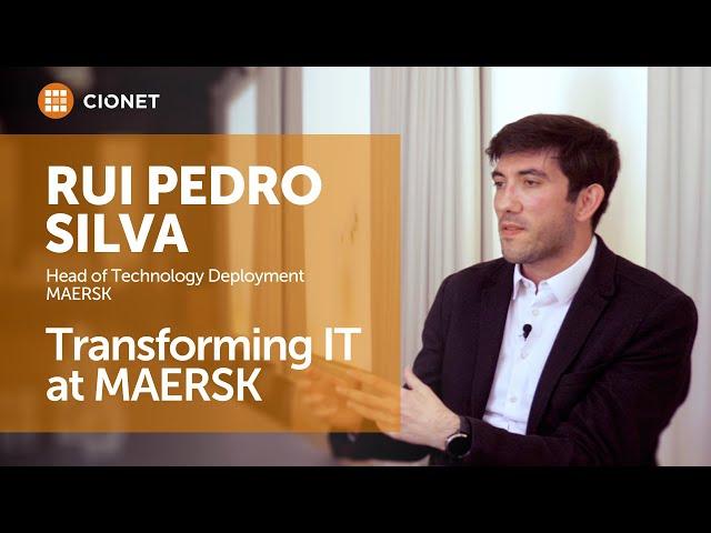 Rui Pedro Silva, Maersk – IT Transformation at MAERSK