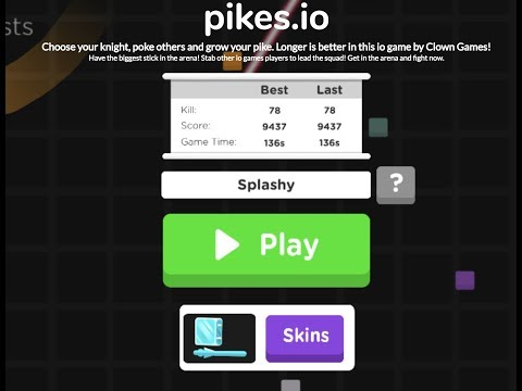 Stab Everybody! Pikes.io Gameplay