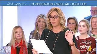 L'aria che tira - Consultazioni Casellati, oggi il bis (Puntata 19/04/2018)
