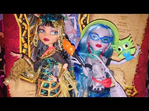 Monster High Exclusive Cleo de Nile & Ghoulia Yelps 2-Pack Doll Review!