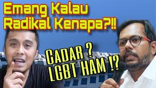 GEGER !! Haris Azhar BLAK-BLAKAN soal Celana Cingkrang dan L-G-8T dimata Hak Asasi Manusia
