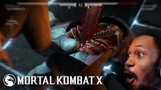 THE BEST X-RAY EVER   Mortal Kombat X #17