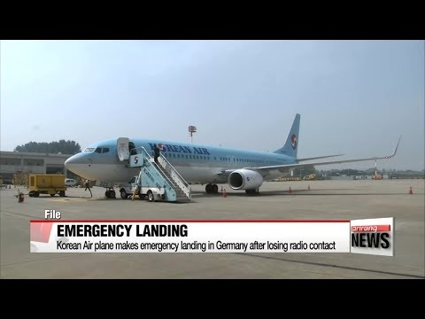 Korean Air plane makes emergency landing in Germany after losing radio contact