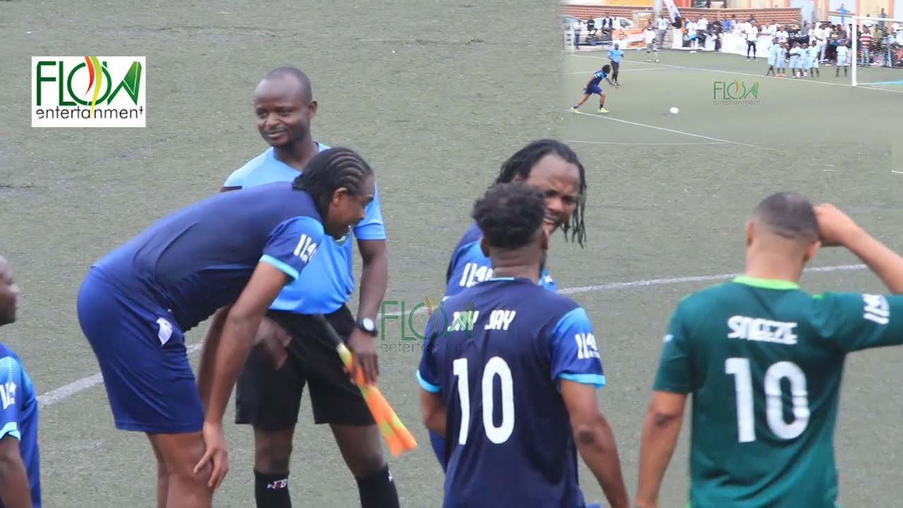 Download SEE WHAT OKOCHA AND KANU DID TO NIGERIA LEGEND FOOTBALLER IKPEBA AS HE SHOOTOUT PENALTY