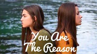 Video You Are The Reason - Calum Scott (Olivia Panacci & Jessica Baio Cover) download MP3, 3GP, MP4, WEBM, AVI, FLV Juni 2018