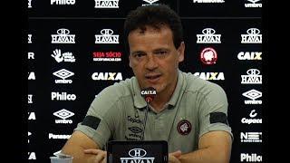 Entrevista pós-jogo: Atlético Paranaense x Santos - Fernando Diniz