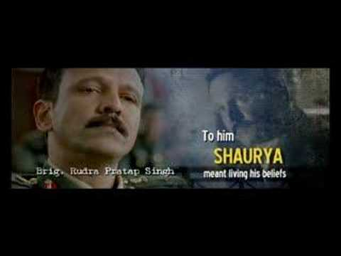 Shaurya Bollywood hindi movie trailer