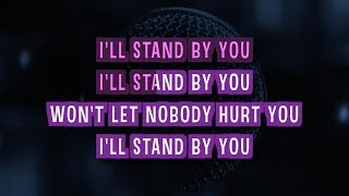 I'll Stand By You (Karaoke Version) - Glee Cast | TracksPlanet