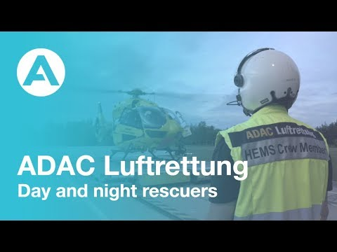 ADAC Luftrettung - Day and night rescuers
