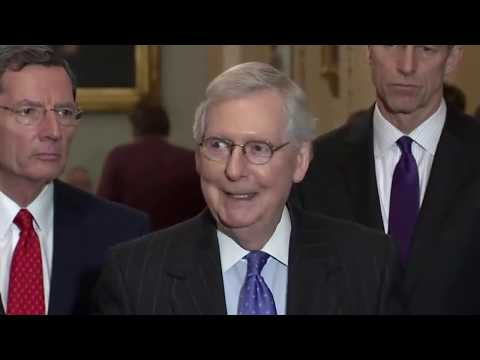 Mitch McConnell Holds