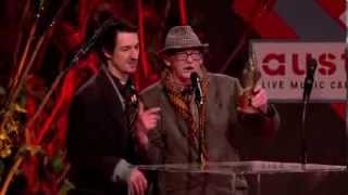 Fat White Family - Weirdest Speech At NME Awards 2014