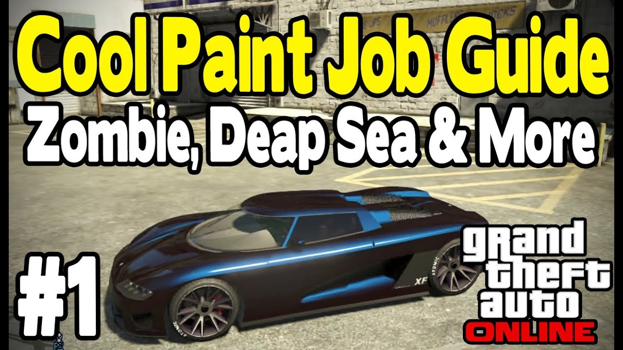 How To Make Gold Paint In Gta