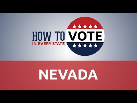 How To Vote In Nevada In 2018