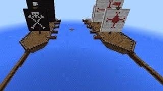 видео: Морской бой в Minecraft PE 1.2 /0.17.0 / 0.16.0 / 0.15.0 [рандом]
