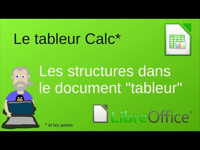 Les structures dans le document