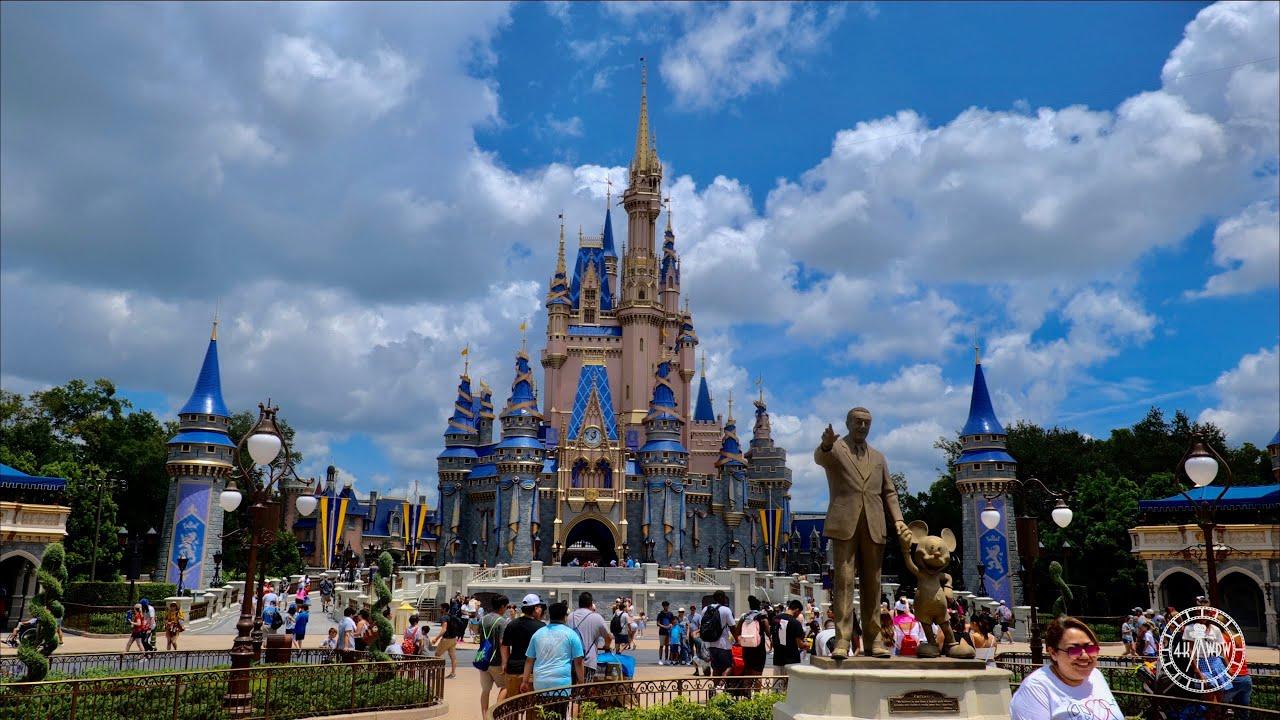Magic Kingdom Ultimate Walking Tour in 4K | Walt Disney World Orlando Florida July 2021