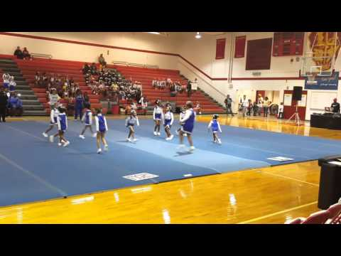Mighty mites Colts cheerleaders 2015