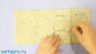 Петля в рамку с одной обтачкой - Светлана Пояркова