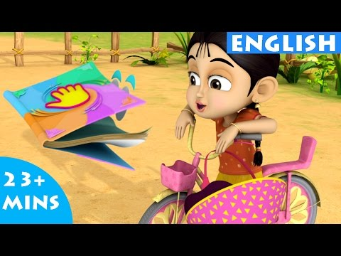 Try Try Try Again  Bommi & Friends Adventures English Stories For Kids | English Story For Children