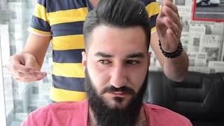Türkiye Haircut Undercut Modern Haircut with for Men Murat Karakoç imaj maiker (ANKARA/ELVANKENT)