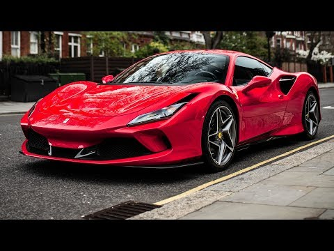 Ferrari F8 Tributo caught looking mighty fine in London