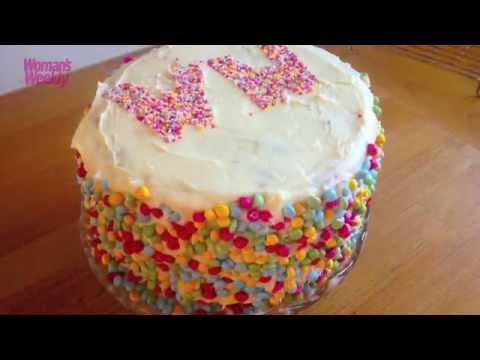 Editor Diane's Chocolate Orange Piñata Cake