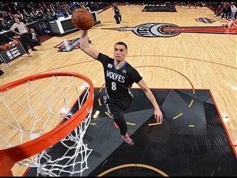 Last Night Was the Wildest Dunk Contest in Years