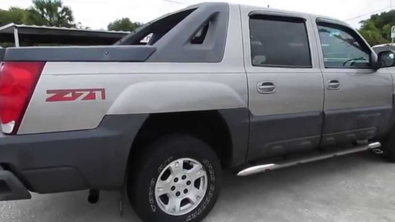 2003 chevrolet avalanche 1500 z71 4x4 clean truck buy here pay here cocoa fl discountwheels. Black Bedroom Furniture Sets. Home Design Ideas