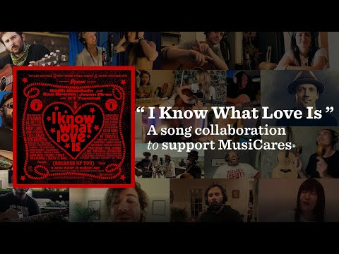 """Keith Goodwin, Zac Brown, Jason Mraz & KT Tunstall - """"I Know What Love Is (Because Of You)"""""""