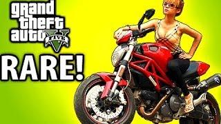 How to Find the RAREST Bike! GTA 5 Tips & Tricks - Principe Nemesis Location