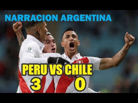 Narración Argentina Peru Vs Chile 3 0 Goles